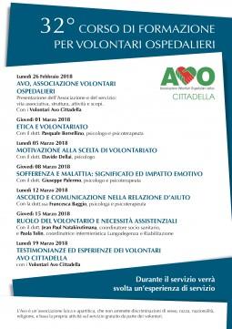 Volantino Corso 2018 Retro